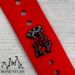 Band Stud® - Christmas Collection - Majestic Reindeer Buffalo Plaid READY TO SHIP