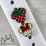 Band Stud® - Christmas Collection - Miss Mouse READY TO SHIP
