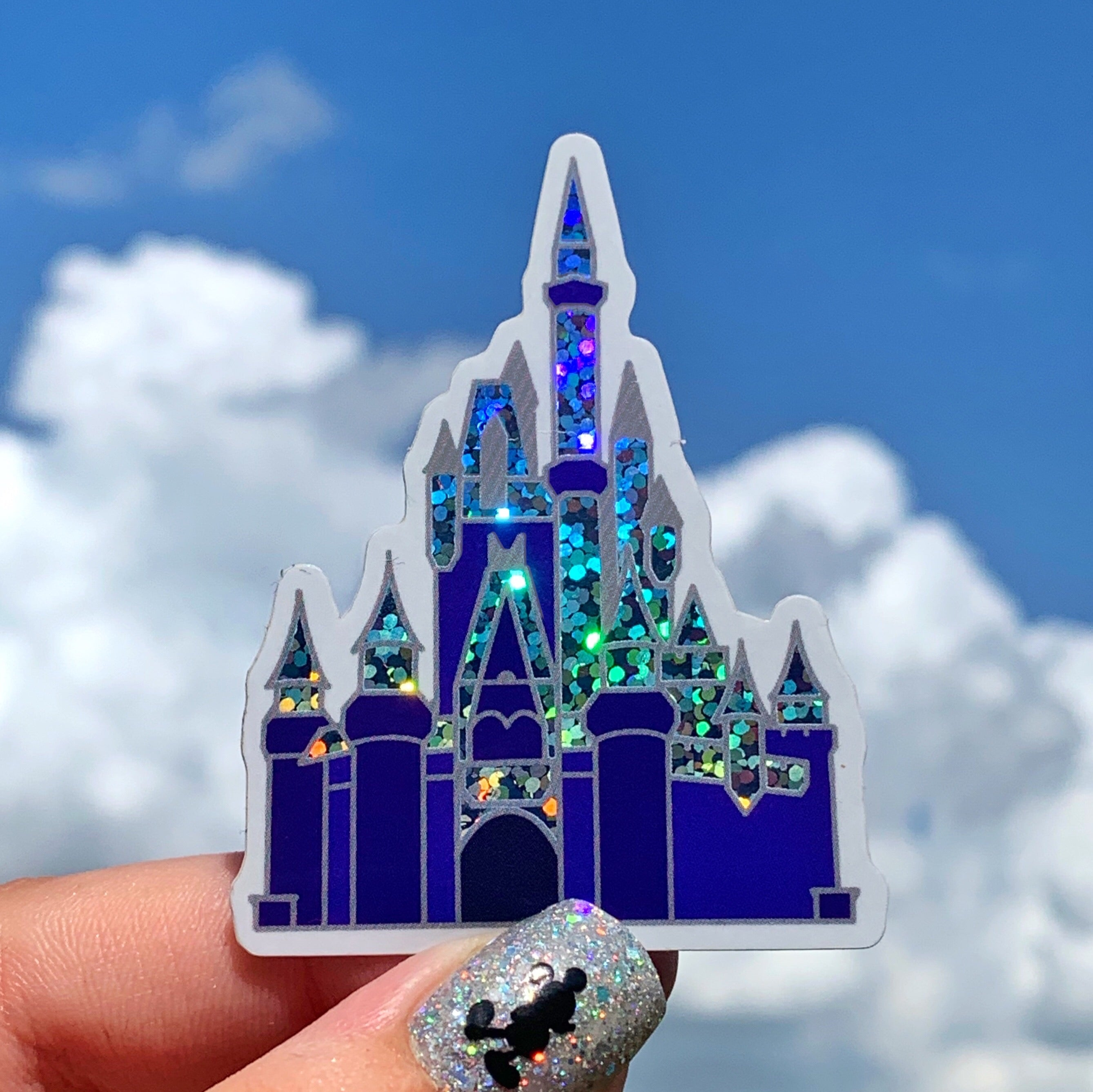 Stickers - Christmas Collection - Castle Dream Lights