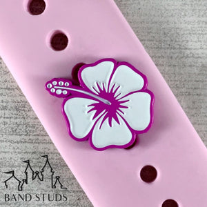 Band Stud® - Summer Fun Collection - Hibiscus READY TO SHIP