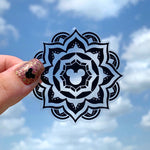 Stickers - Bohemian Mouse Mandala - Clear READY TO SHIP