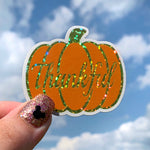 Stickers - Thankful Pumpkin READY TO SHIP