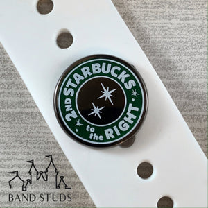 Band Stud® - Coffee Collection - 2nd Star to the Right  READY TO SHIP