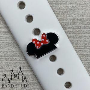 Band Stud® - Mouse Ears - Polka Dot READY TO SHIP