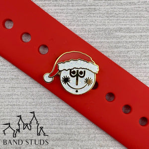 Band Stud - Christmas Collection - Clock Face Small World READY TO SHIP