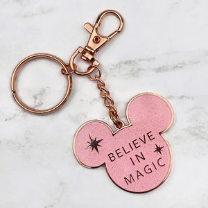 Keychain / Bag Charm - Believe in Magic READY TO SHIP