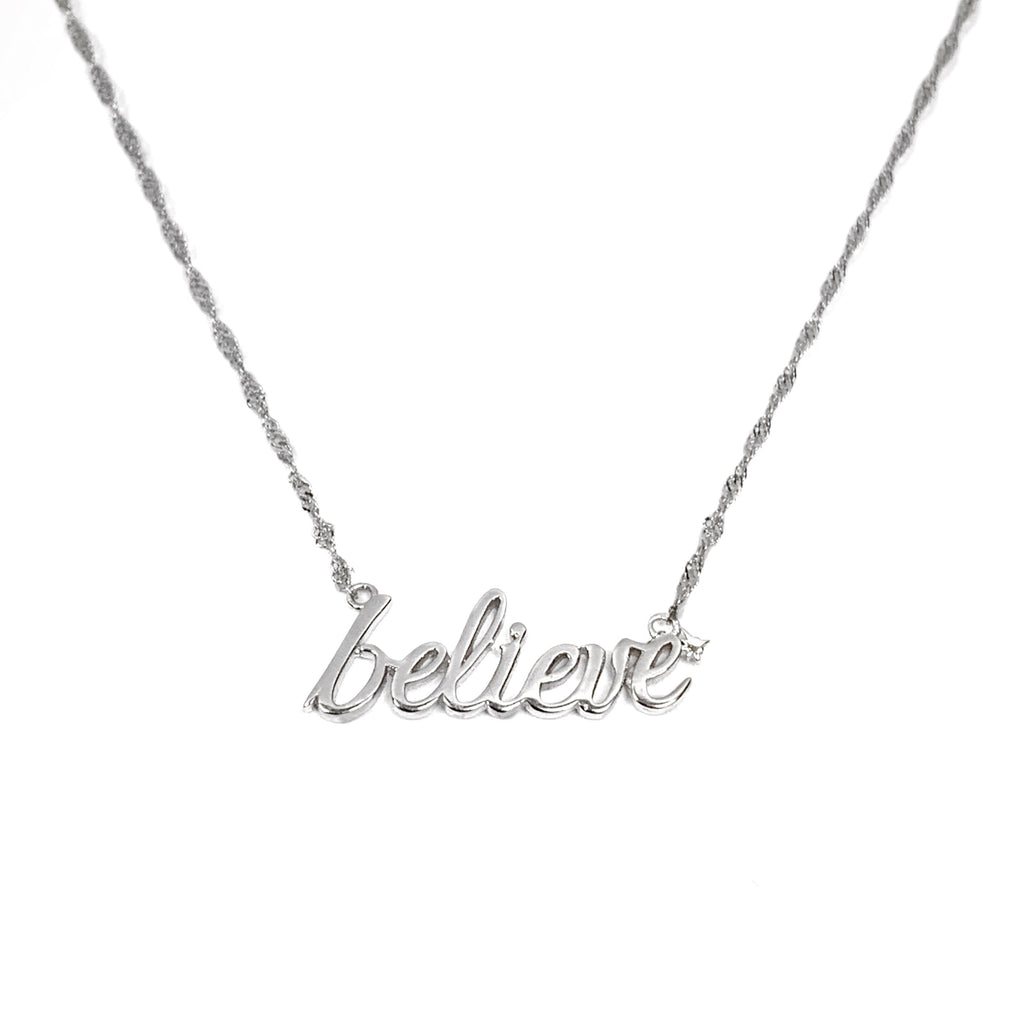Necklace - Believe in Magic READY TO SHIP