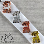 Band Stud® - Christmas Collection - Majestic Reindeer READY TO SHIP
