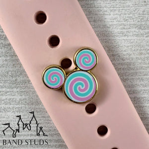 Band Stud® - Candy Swirl Mouse READY TO SHIP