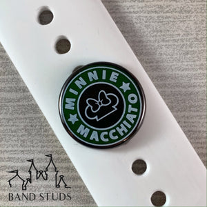 Band Stud - Coffee Collection - Minnie Macchiato  READY TO SHIP