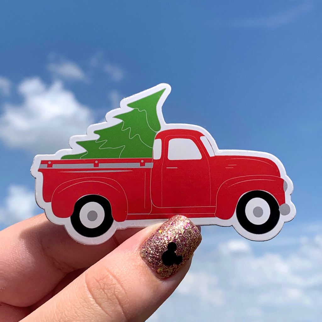 Stickers - Christmas Collection - Tree and Truck