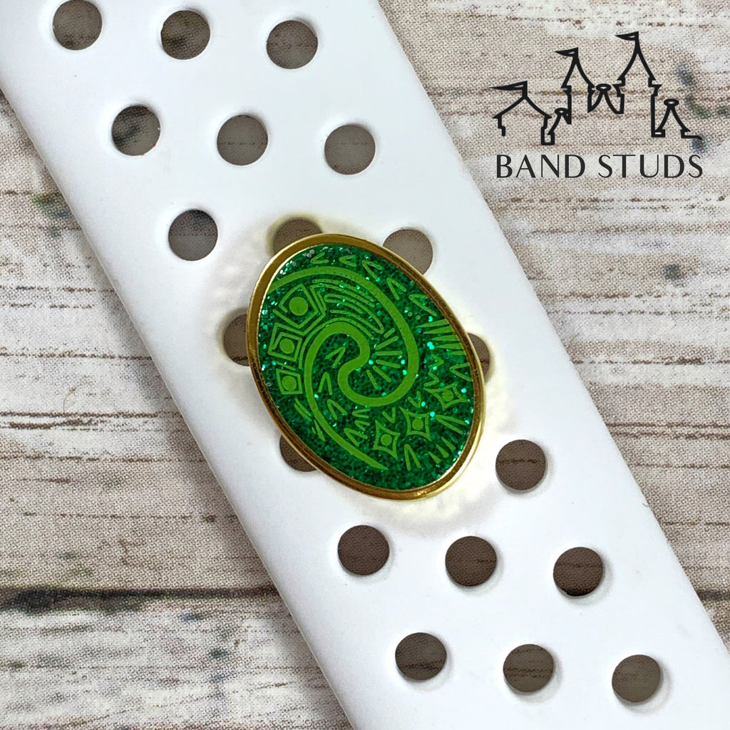 Band Studs - Heart of Te Fiti  READY TO SHIP