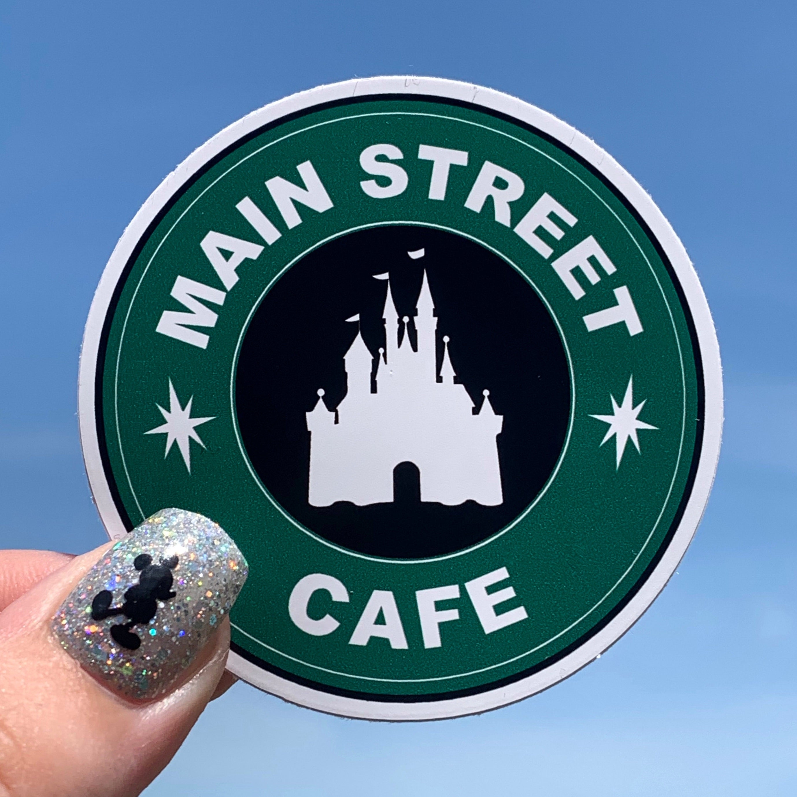 Stickers - Coffee - Main Street Cafe