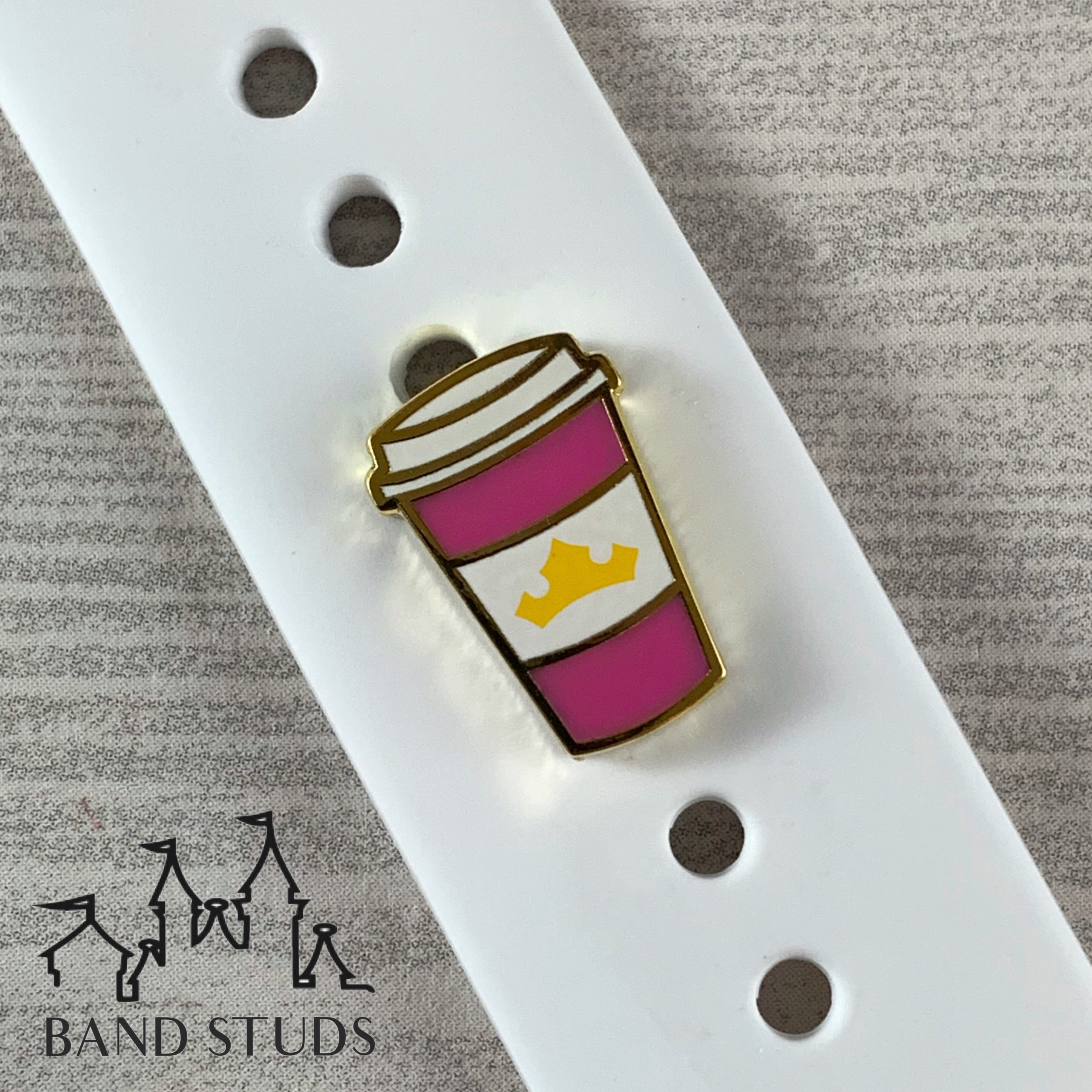 Band Stud - Coffee Cup Collection - The Princesses READY TO SHIP