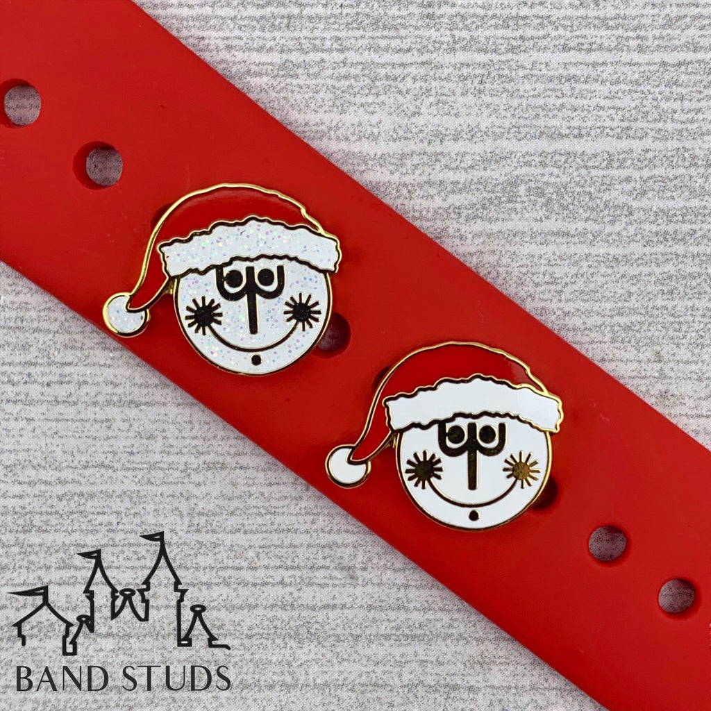 Band Stud® - Christmas Collection - Clock Face Small World READY TO SHIP