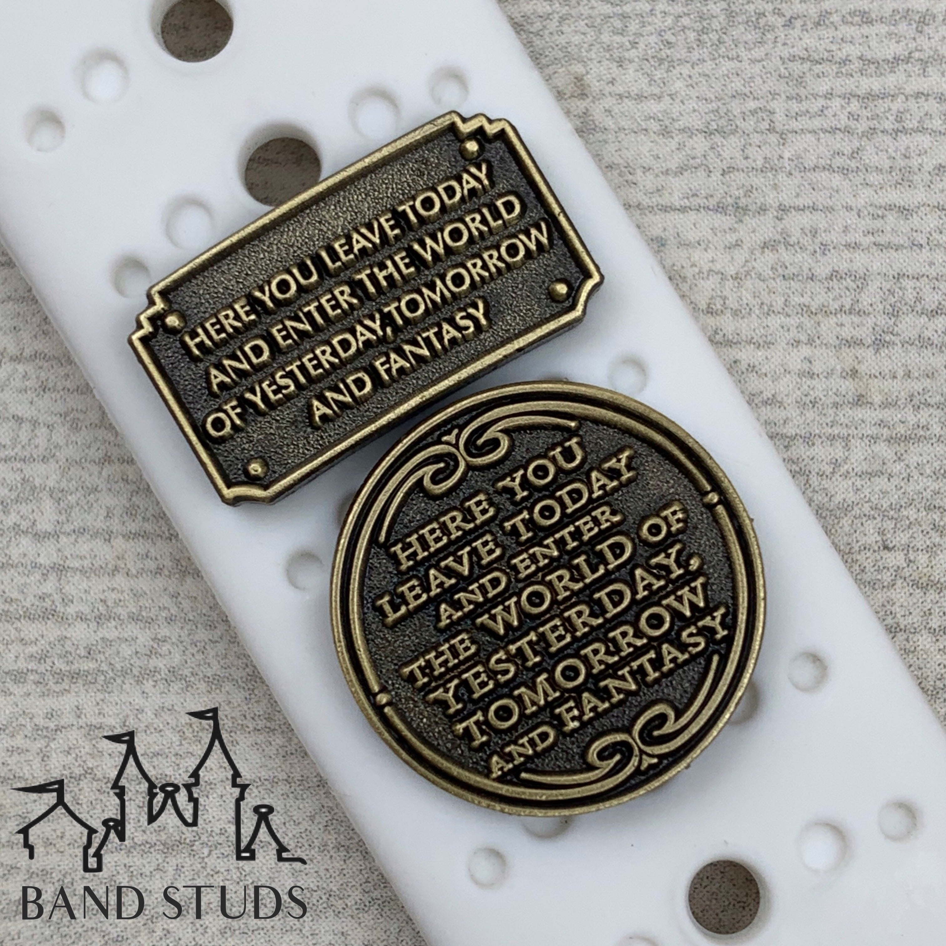 Band Stud - Magical Entrance Plaque  READY TO SHIP