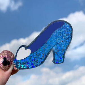 Stickers - Glass Slipper  READY TO SHIP