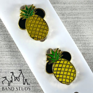 Band Stud® - Summer Fun Collection - Pineapple Mouse READY TO SHIP