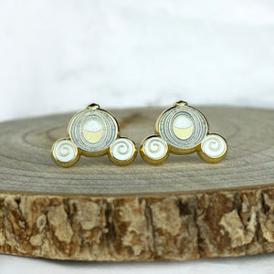 Earrings - Carriage READY TO SHIP