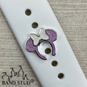 Band Stud® - Miss Mouse Ears - Lilac READY TO SHIP