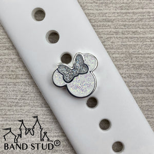 Band Stud® - Christmas Collection - Miss Mouse Winter Wonderland READY TO SHIP