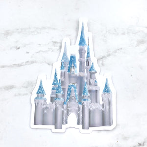Stickers - Castle - Cinderella Castle - Home for the Holidays