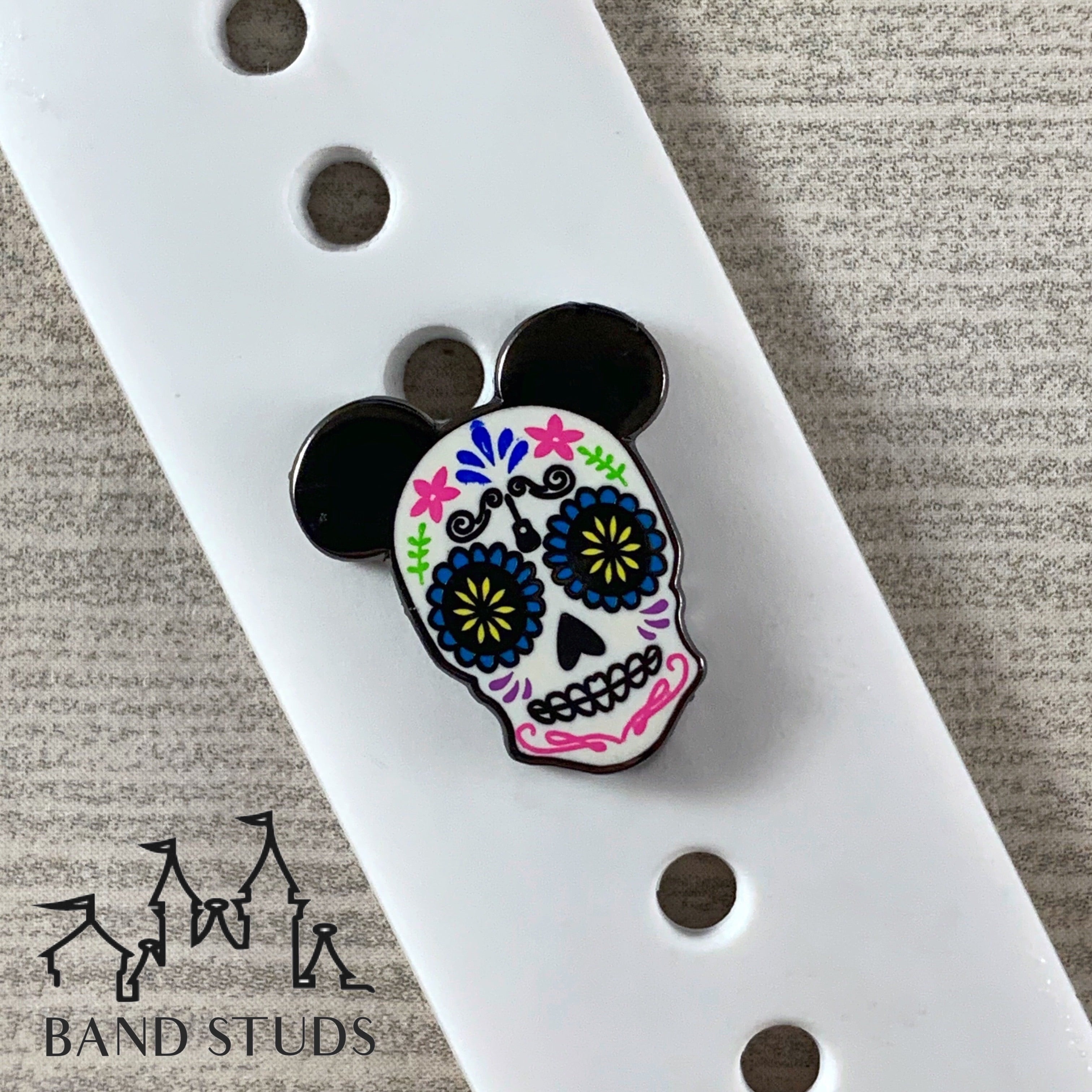Band Stud® - Poco Loco Sugar Skull READY TO SHIP