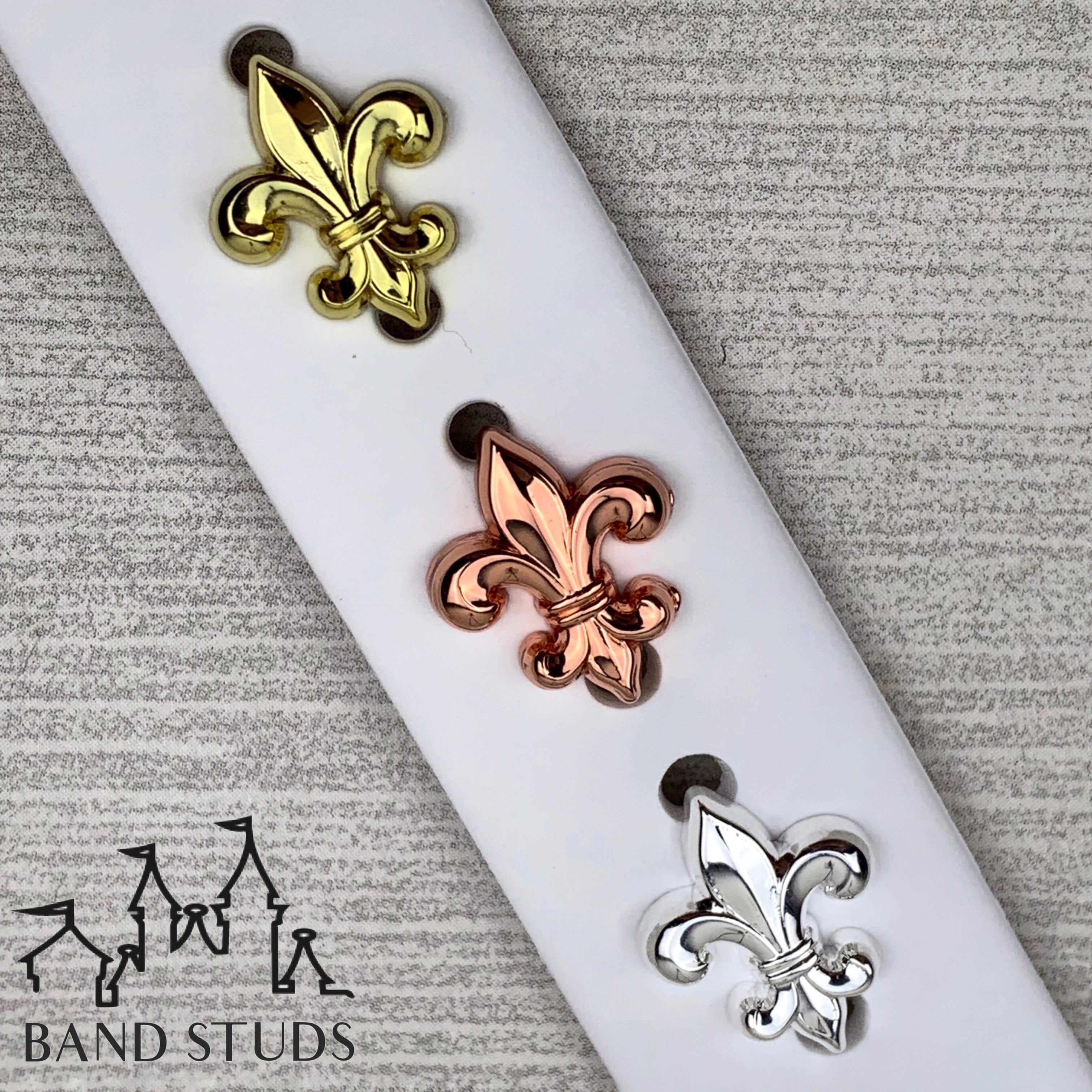 Band Stud® - Fleur de Lis  READY TO SHIP