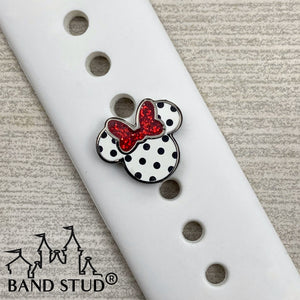 Band Stud® - Miss Mouse - Rock the Dots  READY TO SHIP