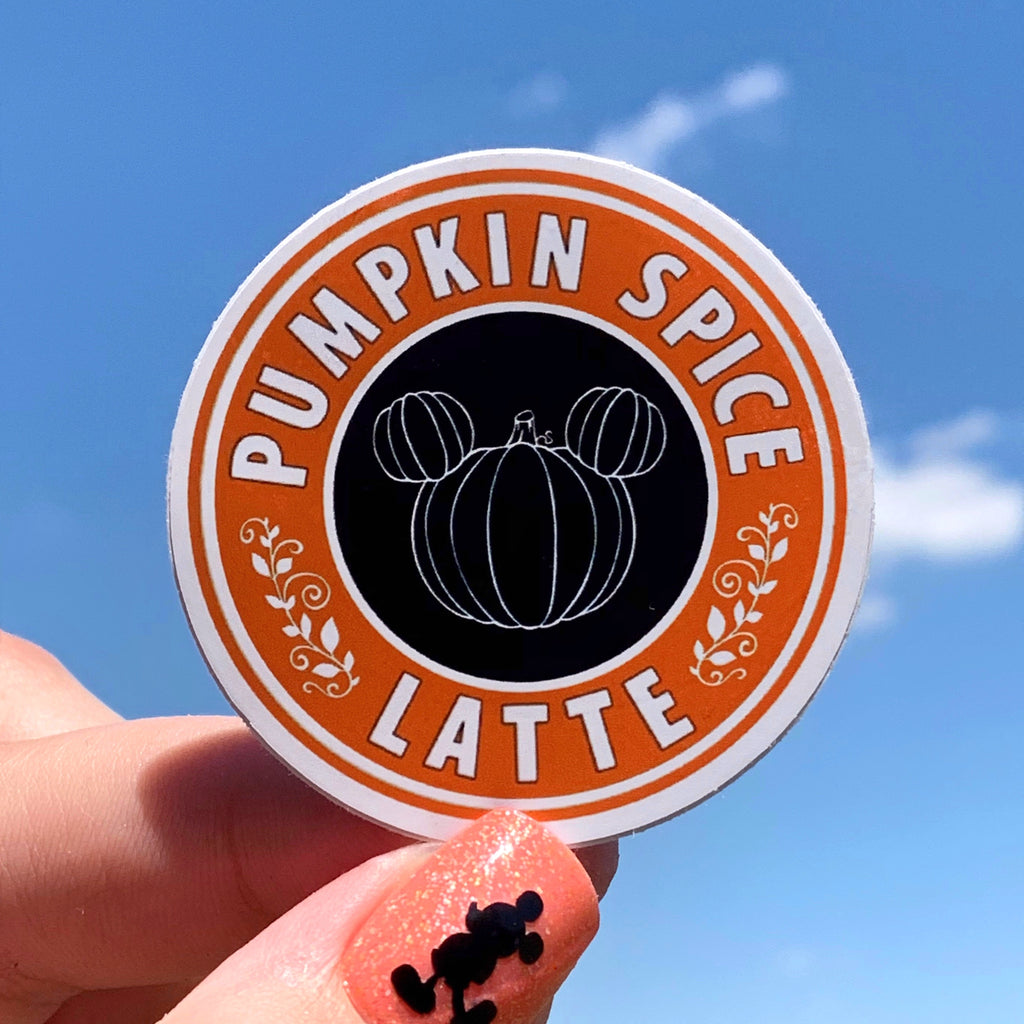 Stickers - Coffee - Pumpkin Spice Latte READY TO SHIP