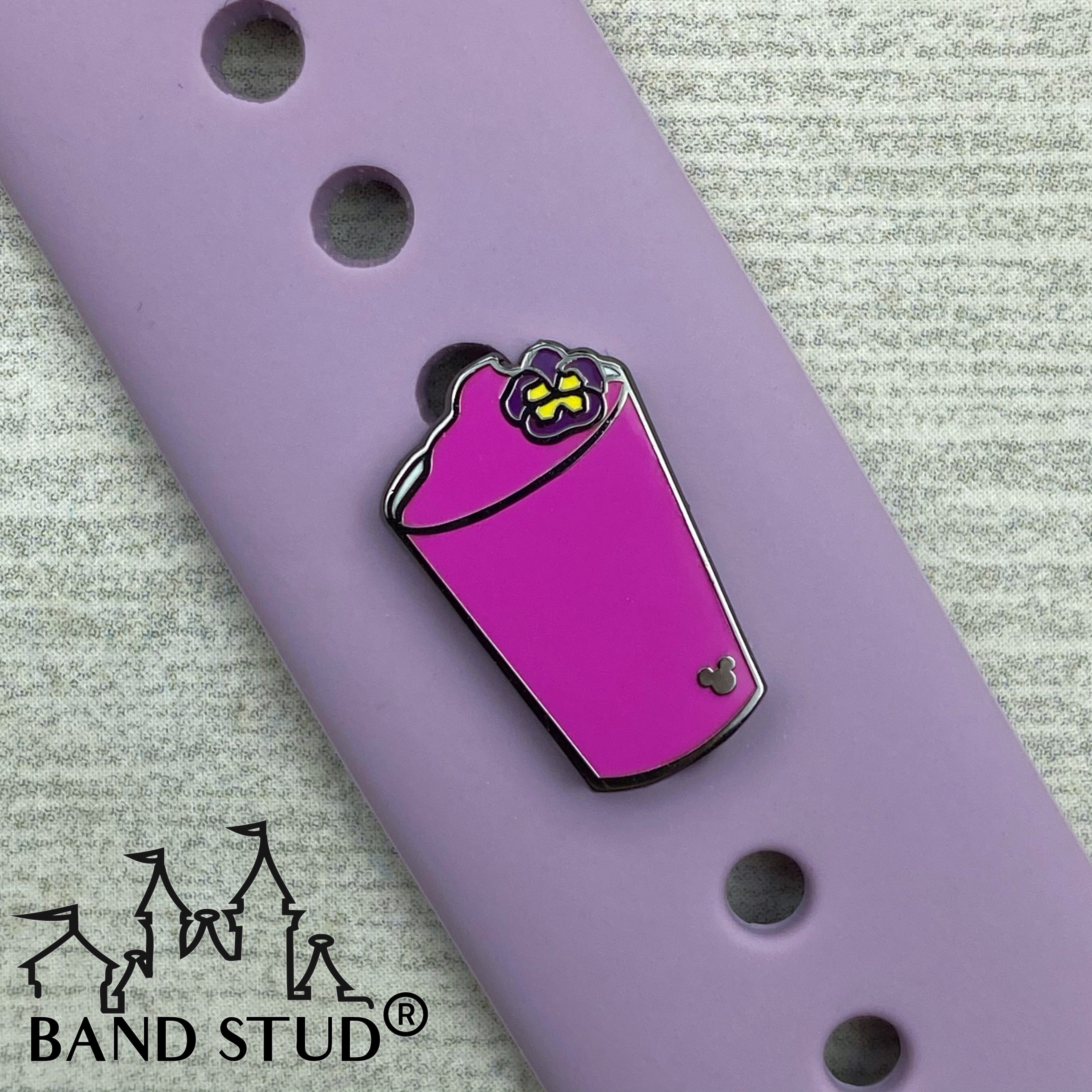 Band Stud®  - Flower and Garden - Violet Lemonade READY TO SHIP