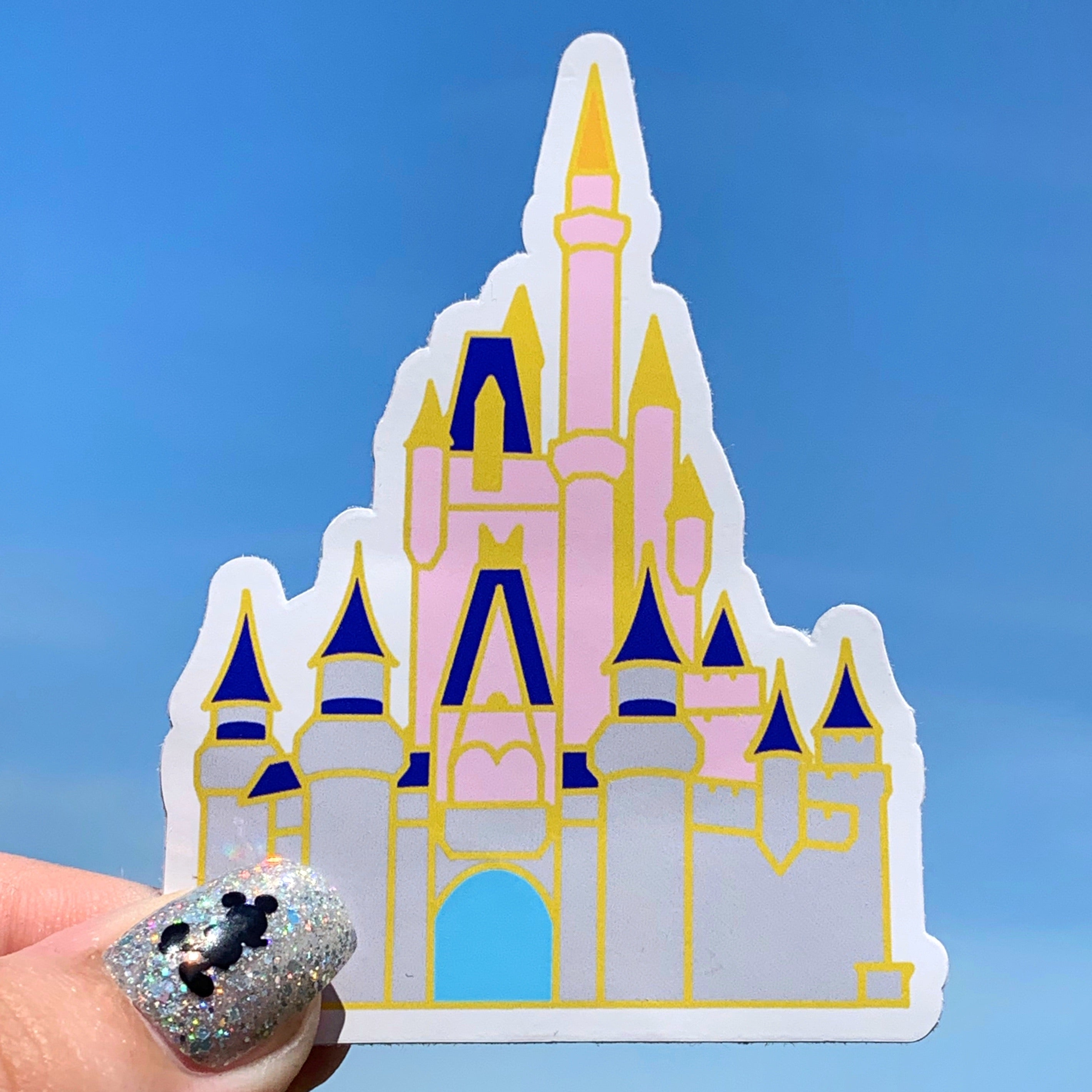 Stickers - Castle - Cinderella Castle