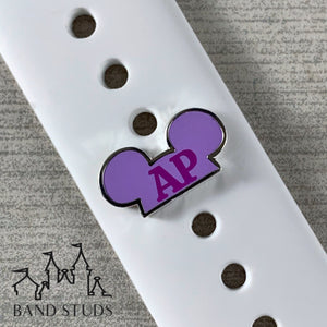 Band Stud - Mouse Ears - AP READY TO SHIP