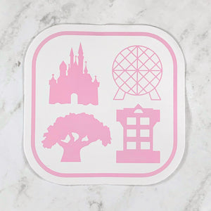 Stickers - Four Parks One World READY TO SHIP