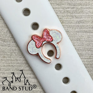 Band Stud® - Miss Mouse Ears - Rose Gold READY TO SHIP