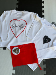 DADDY HEART TOP