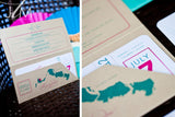 TRAVEL COLLECTION Portable Pocket Styled Invitation