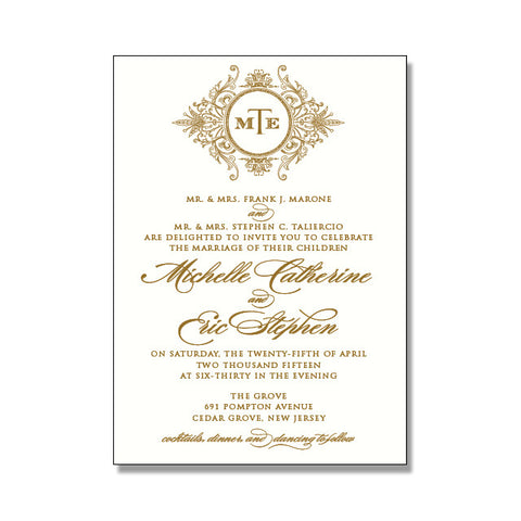 ABIGAIL Wedding Invitation Suite