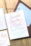 BAILEY Wedding Invitation Suite