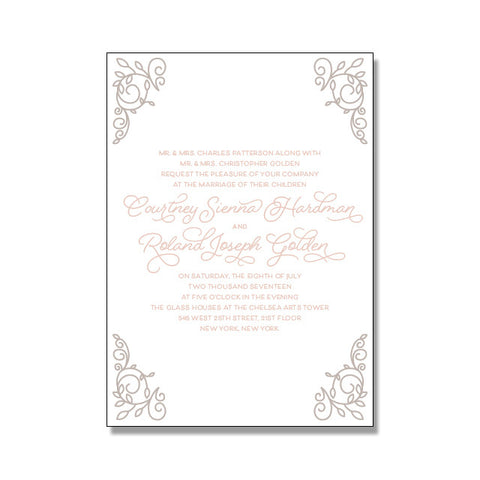 COURTNEY Wedding Invitation Suite