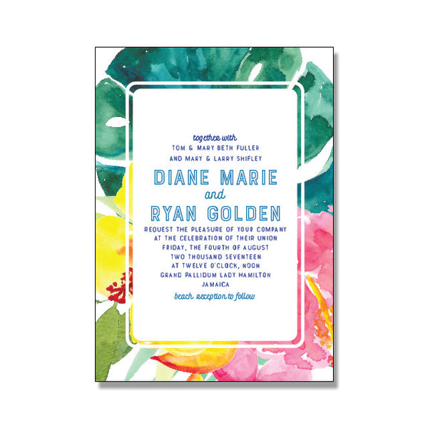 FLORA Wedding Invitation Suite