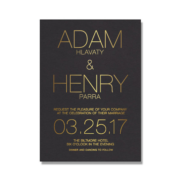 FRANKI Wedding Invitation Suite