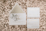 FAST TRACK // ADELE Rose Gold Glitter Package