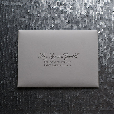 Address Printing for Any Suite | Guest Addressing | Digital Calligraphy