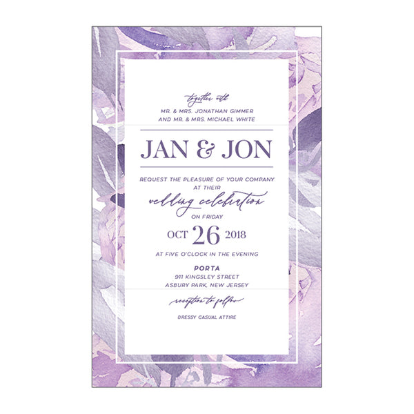 JAN Wedding Invitation Suite