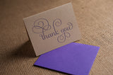 ADELE Thank You Card