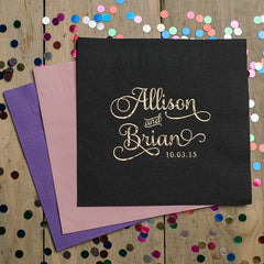 Custom Foil Napkins