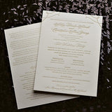Ceremony Programs for Any Suite!