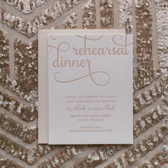 Rehearsal Dinner Invitation for Any Suite!