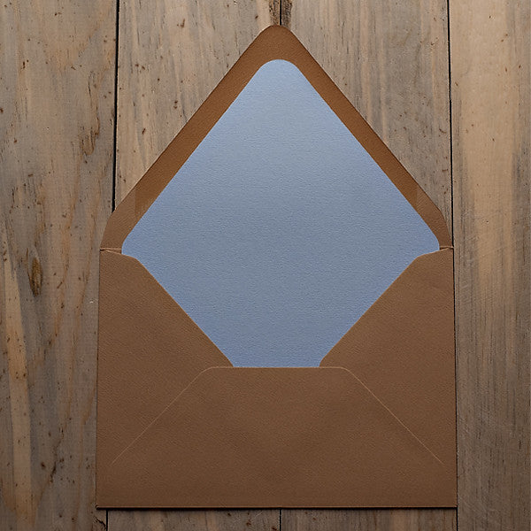 Solid Envelope Liners: A7, A2, 4BAR, Square